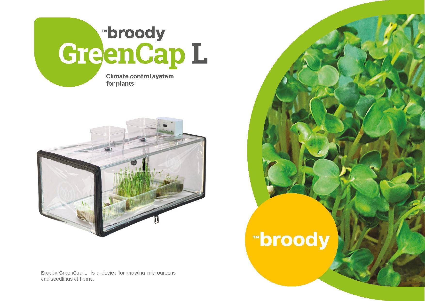 GreenCap_Plant propagator with light
