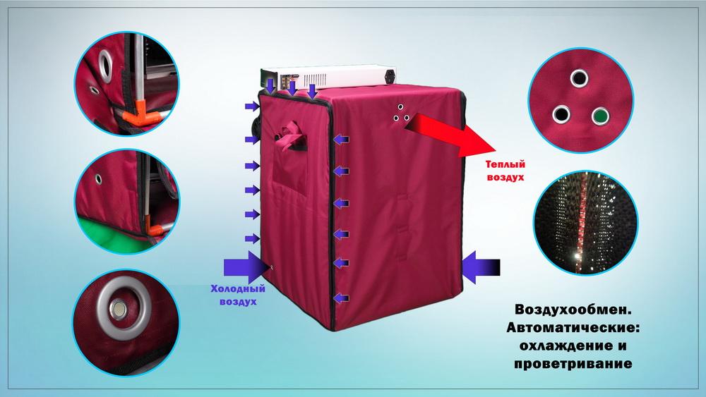 Автоматическое проветривание инкубатора Broody Zoom