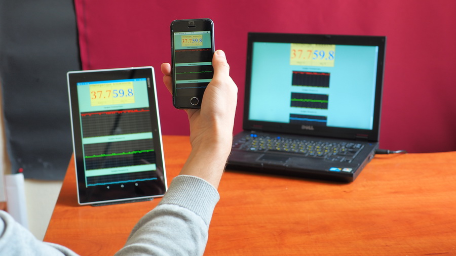 Wi-Fi στο εκκολαπτήριο: φορητός υπολογιστής, τηλέφωνο, δισκίο