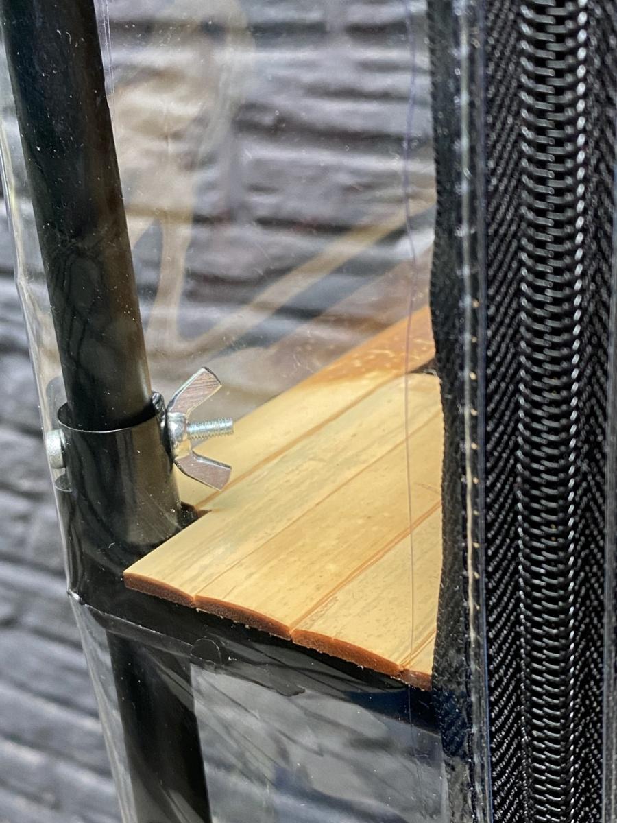 dismountable indoor mini-greenhouse for plants_Sezam-XL-Bamboo