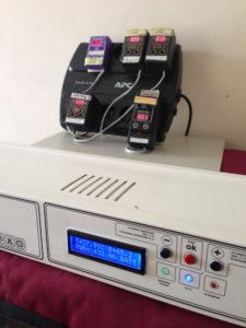 La temperatura y humedad en la incubadora Brudi Zoom.