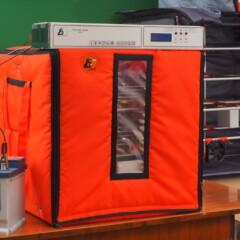 Nuevo modelo de incubadora con batería
